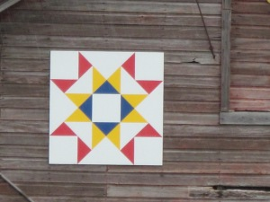 Bear Claw Pattern Barn Quilt
